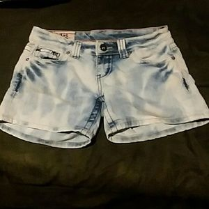 1st Kiss shorty shorts (Size 3)